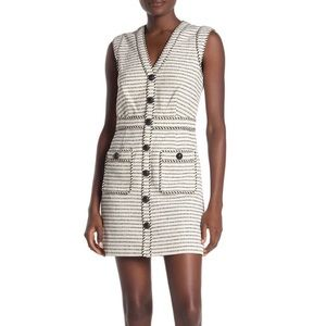 NWT VERONICA BEARD Kama Dress Button Pocket 12